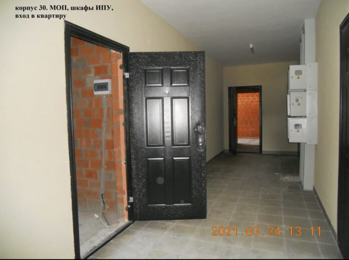 Идет выдача ключей от квартир в 30 и 34 корпусах