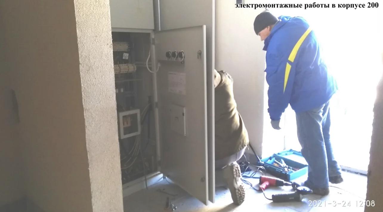 ЖК «Борисоглебское», фотофиксация от 24.03.2021